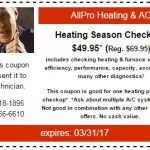 Heating Season Coupon